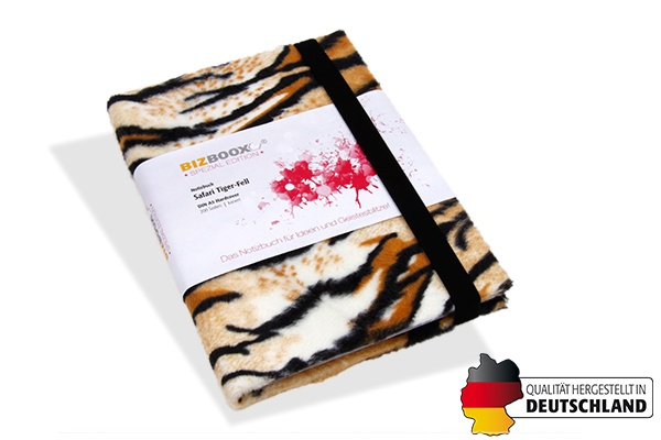 BIZBOOX® Tiger Fell DIN A5