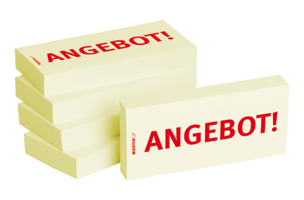 "BIZSTIX® Business Haftnotizen ""Angebot!"""